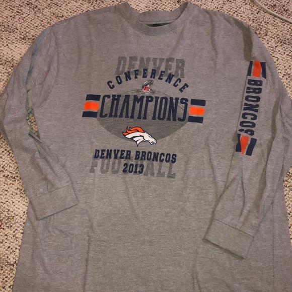 Denver Bronco Long Sleeve Shirt